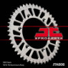 Couronne JT SPROCKETS 49 dents alu ultra-light anti-boue pas 520 type 808 Suzuki