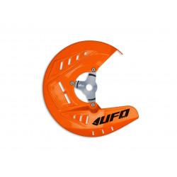 Protège disque avant UFO orange KTM SX SXF 125 250 350 450 2010-14