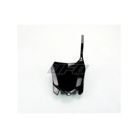 Plaque numéro frontale UFO noir Honda CRF 450 250 2013-17