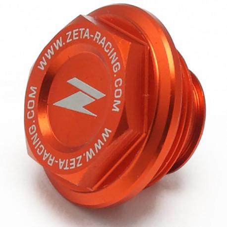 Couvercle Maître Cylindre de Frein Arrière Anodisé Orange pour KTM 125-250-350-450 SX-SXF 2004-18