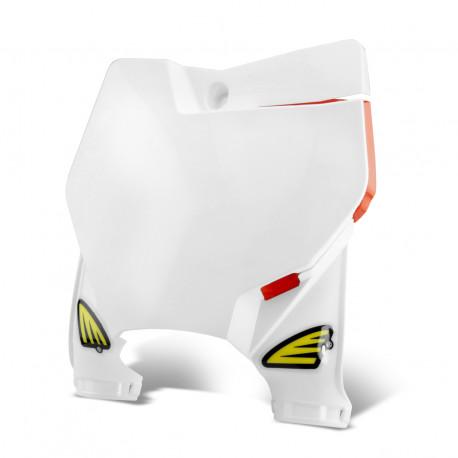 Plaque numéro frontale stadium blanche KTM SX SXF 125 150 250 350 2016/19