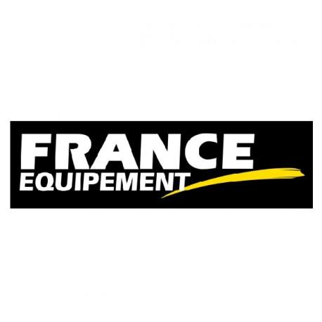 AUTOCOLLANT STICKERS FRANCE EQUIPEMENT 20X5cm