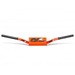GUIDON BAS NEKEN RADICAL DESIGN ORANGE FLUO 28,6mm 85 YZ RM CR SX KX
