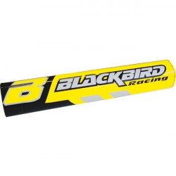 MOUSSE DE GUIDON CROSS JAUNE BLACK BIRD RACING