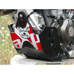 SABOT GP PROTECTION MOTEUR AXP YZF 450 2014 NOIR ROUGE