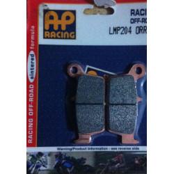 PLAQUETTES DE FREIN ARRIERE AP RACING LMP204ORR HONDA CR 85 03/07