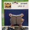 PLAQUETTES DE FREIN ARRIERE AP RACING LMP390ORR KAWASAKI KXF 125 95/09
