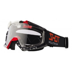 LUNETTES MASQUE MOTO CROSS SHOT ASSAULT BEYOND BLACK RED