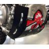 SABOT GP PROTECTION MOTEUR AXP YZF 450 06/09 BLANC